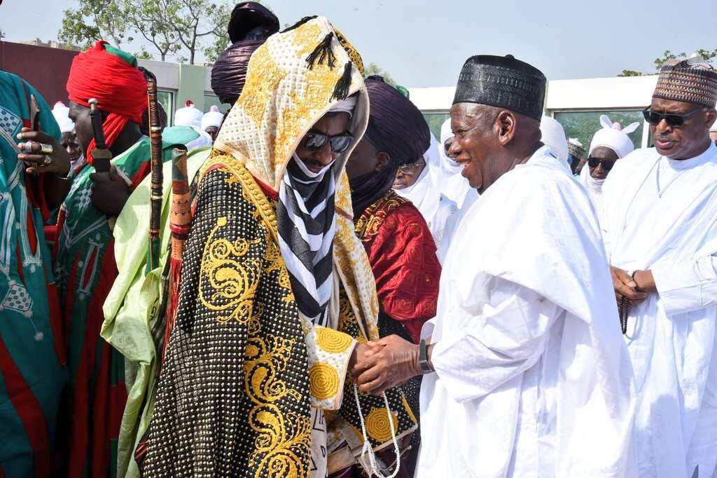 Emir Sanusi: 11 Kano district heads defy Ganduje's directives on Hawan Daushe - Legit.ng