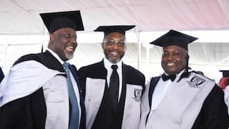 Baze University convocation: 3 prominent Nigerian politicians who graduated, courses they studied and their grades