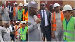 The job done is zero; Governor Yahaya Bello openly chides a Chinese contractor at site in viral video