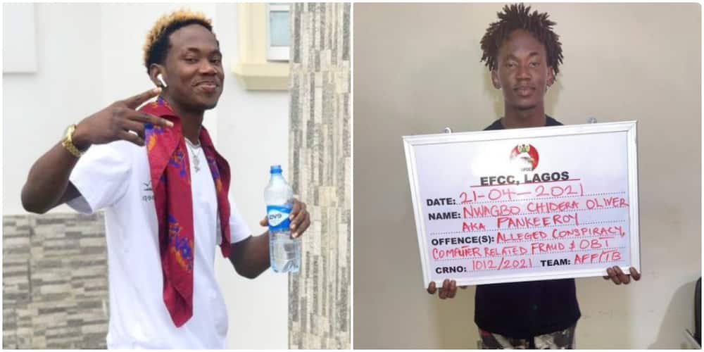 Instagram Comedian Pankeeroy Arrested By EFCC for Alleged Involvement in Internet Fraud