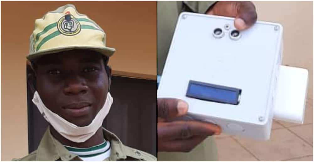 COVID-19: NYSC says corps member has invented 'remote thermometer'