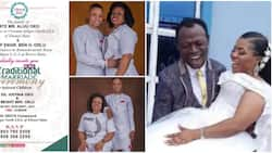 Nigerian man who accused pastor of marrying his wife finds new lady in barely 2 months, wedding invite emerges