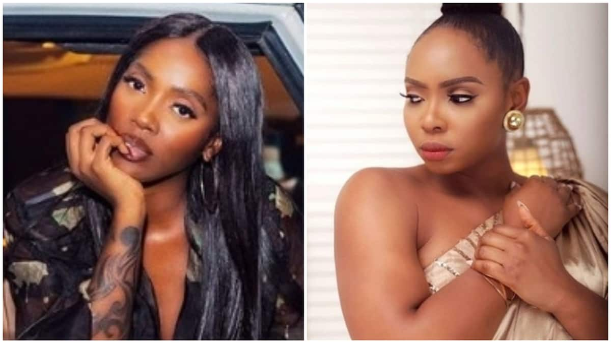 For sure you be woman of steel - Tiwa Savage celebrates Yemi Alade
