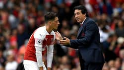 Arsenal boss Unai Emery makes big statement about Mesut Ozil after West Ham's defeat