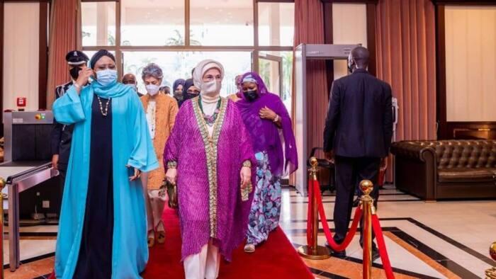 Matar shugaban ƙasar Turkiyya ta kaddamar da muhimmin abu a Abuja yayin ziyarar mijinta