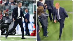 Angry Juventus manager 'attacks' players for failing to win a single game in Serie A since Ronaldo's exit