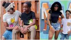 Wash me jeje: Wizkid's first baby mama explains how son Boluwatife attempted to outsmart her on Instagram