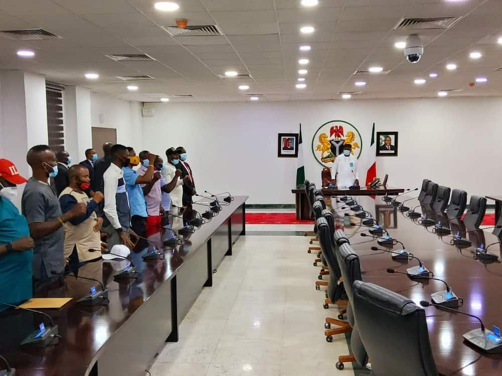 NANS names Governor Ugwuanyi most youth-friendly governor in Nigeria