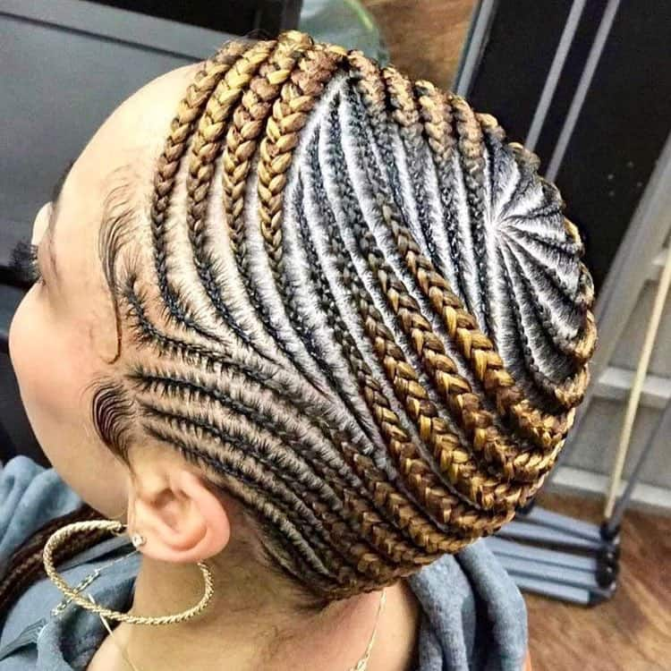 30 lemonade braids hairstyles you should try in 2019 ▷ Legit.ng