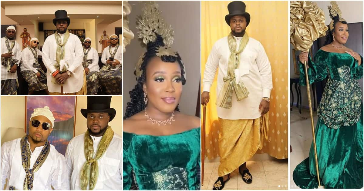 First photos from Davido's brother Adewale Adeleke's traditional wedding in Cross River - Latest News in Nigeria & Breaking Naija News 24/7 | LEGIT.NG