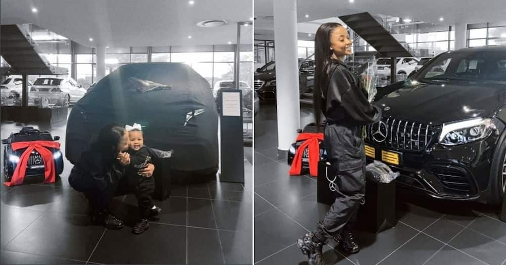 Mom and daughter goals: Woman and her little girl get matching whips
