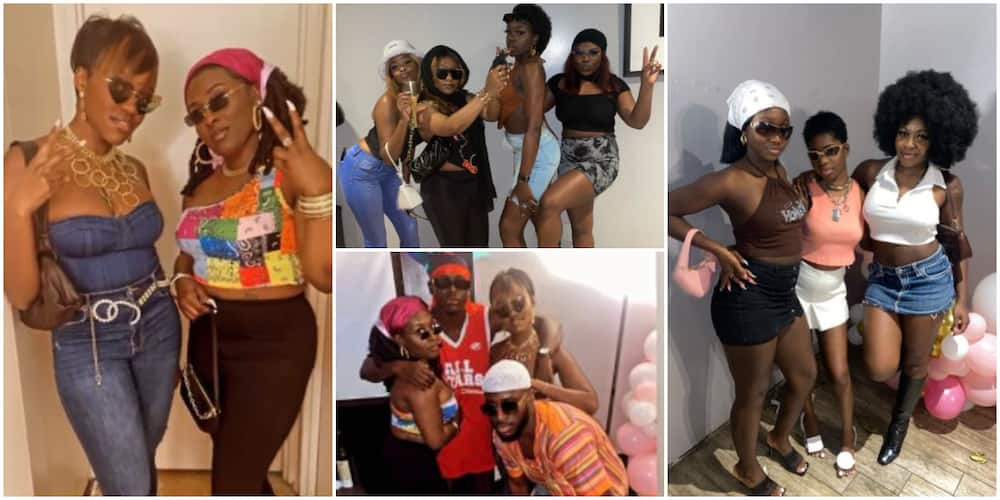 I Spot Genevieve and Rita Dominic: Tweeps React to Viral Photos From Lady's Nollywood Themed Birthday Party