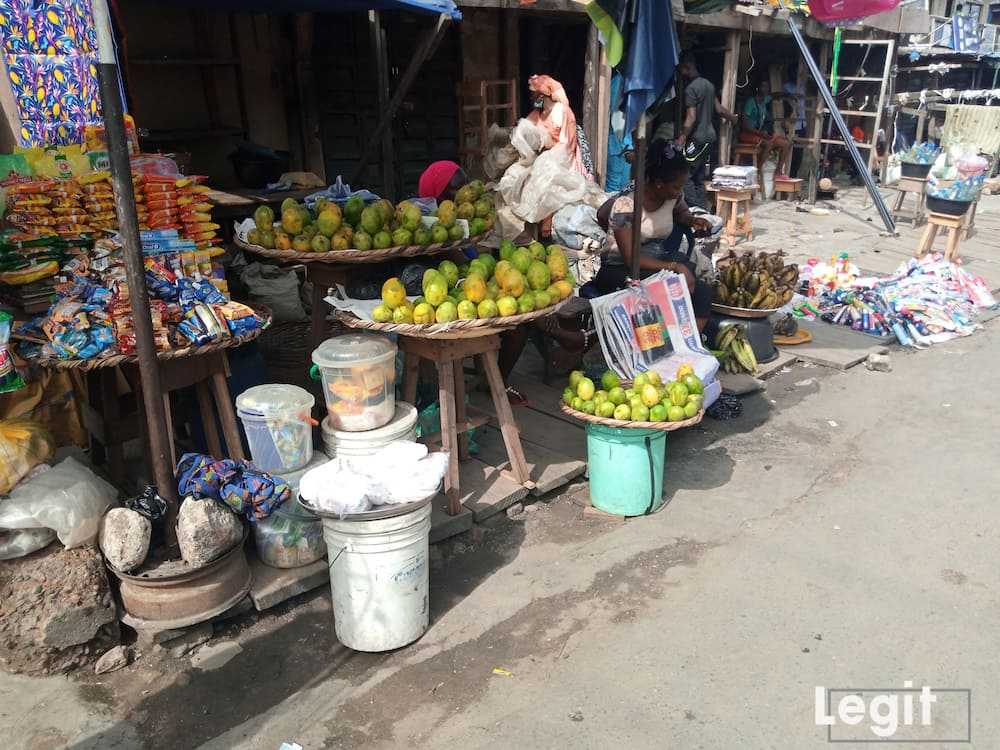 Mango is in its season now but the supply level is still very low. Photo credit: Esther Odili