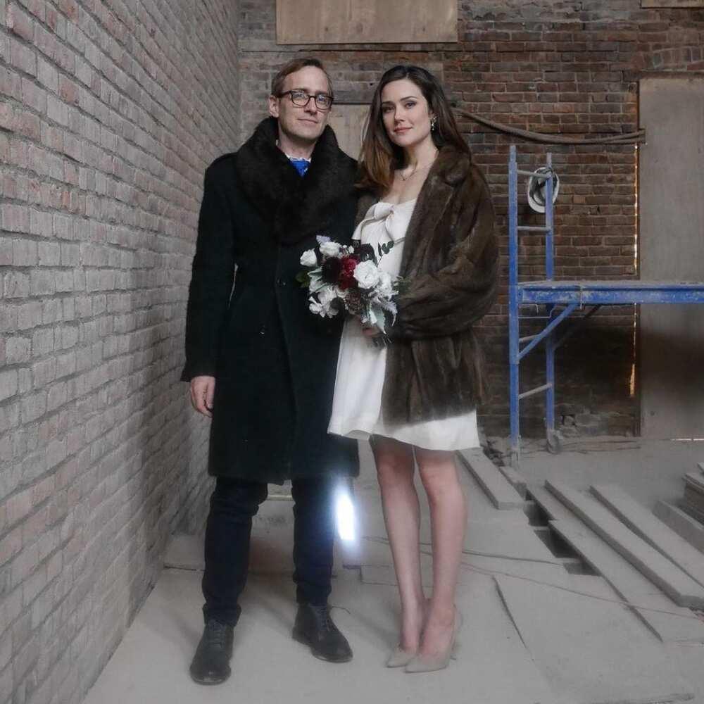 Megan Boone and Dan Estabrook
