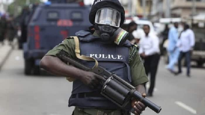 Nigeria police allegedly shoot seven-month-old child, abandons family