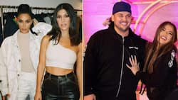Kim Kardashian shares rare photo of Rob out for dinner with Khloe, Kourtney and Travis Barker