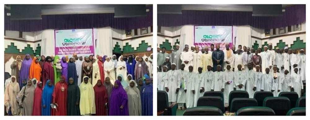 Addinin musulunci ya samu babban karuwa: Fastoci fiye da 42 da matayensu sun musulunta a Abuja (hotuna)
