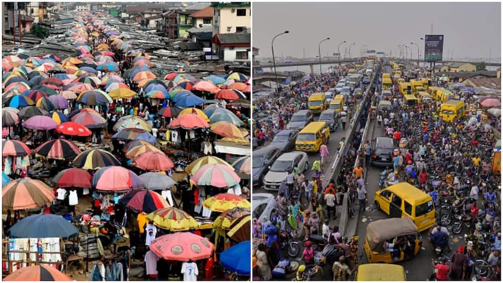 Lagos means lake.