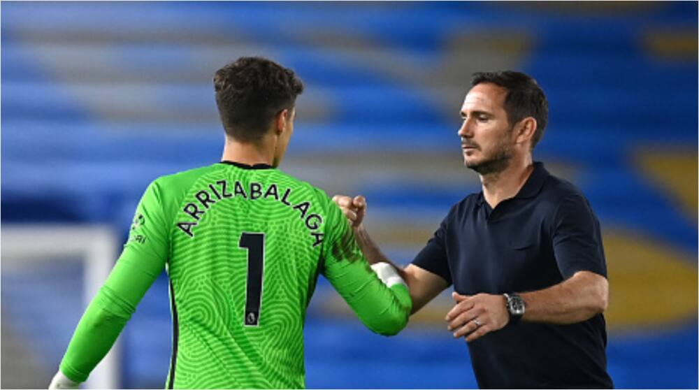 Kepa Arrizabalaga: Lampard insists he's happy with goalkeeper despite error vs Brighton