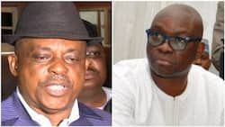 Fresh crisis looms as Secondus allegedly supports sacking of Fayose as PDP leader in Ekiti