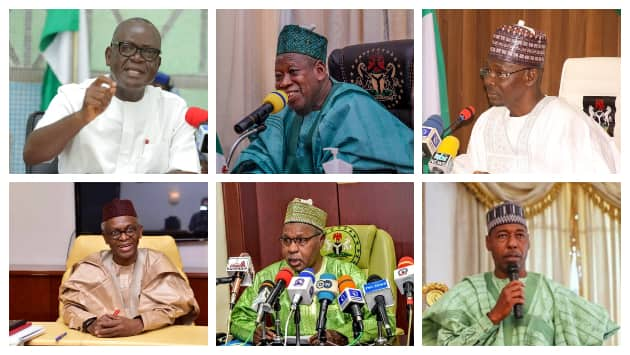 Six northern governors
