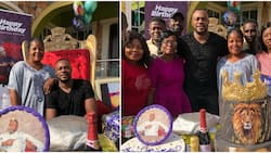 See lovely photos from Nollywood actor Odunlade Adekola's birthday party