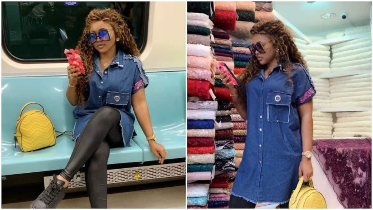 Actress Mercy Aigbe shows how she hustles, curses naysayers