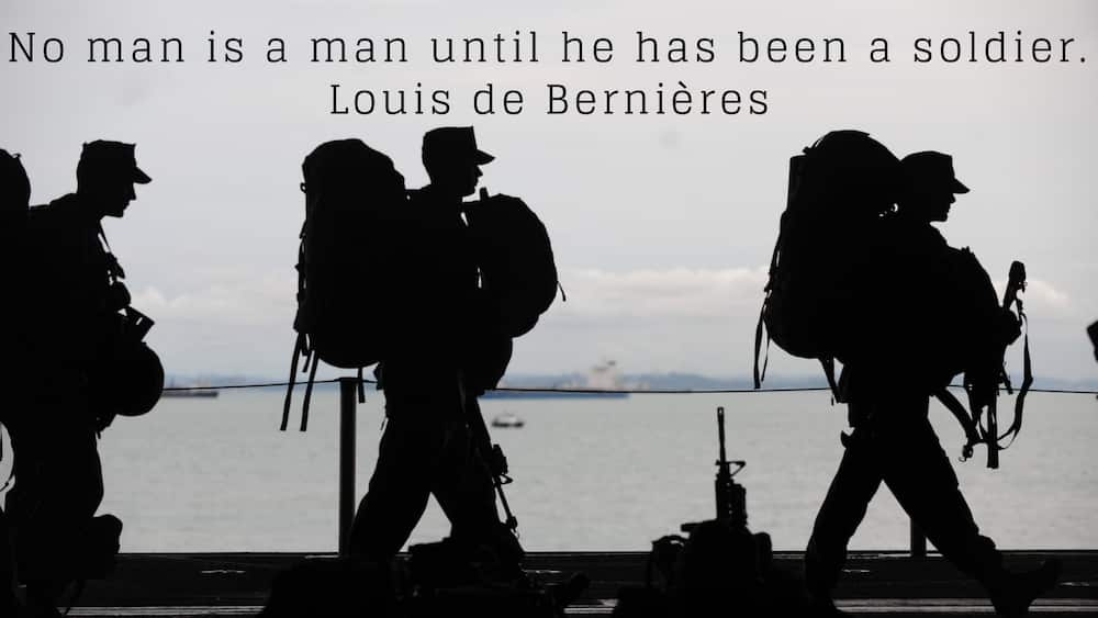 25 Best Inspirational Military Quotes Of All Time Legit.ng