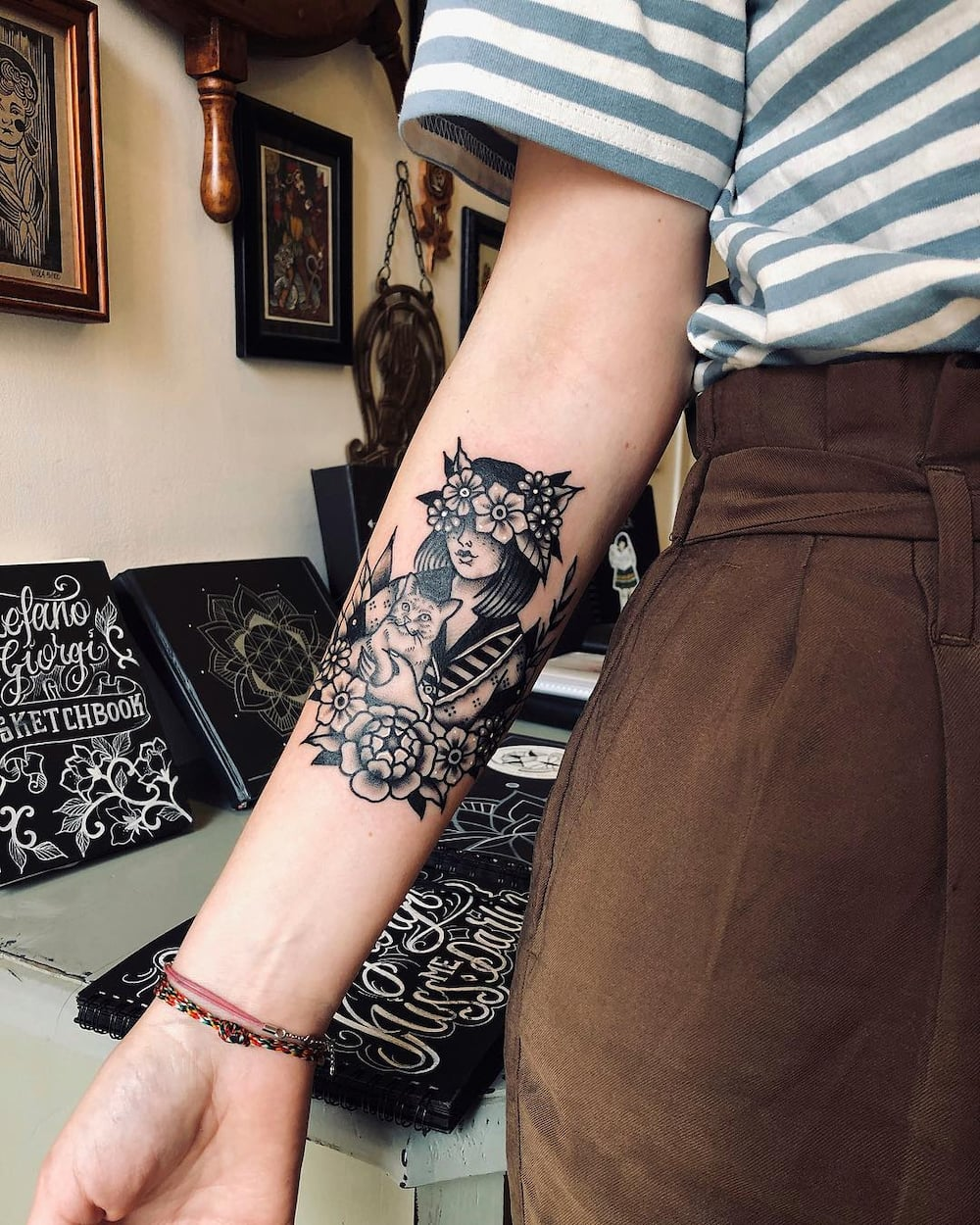 a23c6a484 50 cool arm tattoos design ideas for men and women ▷ Legit.ng
