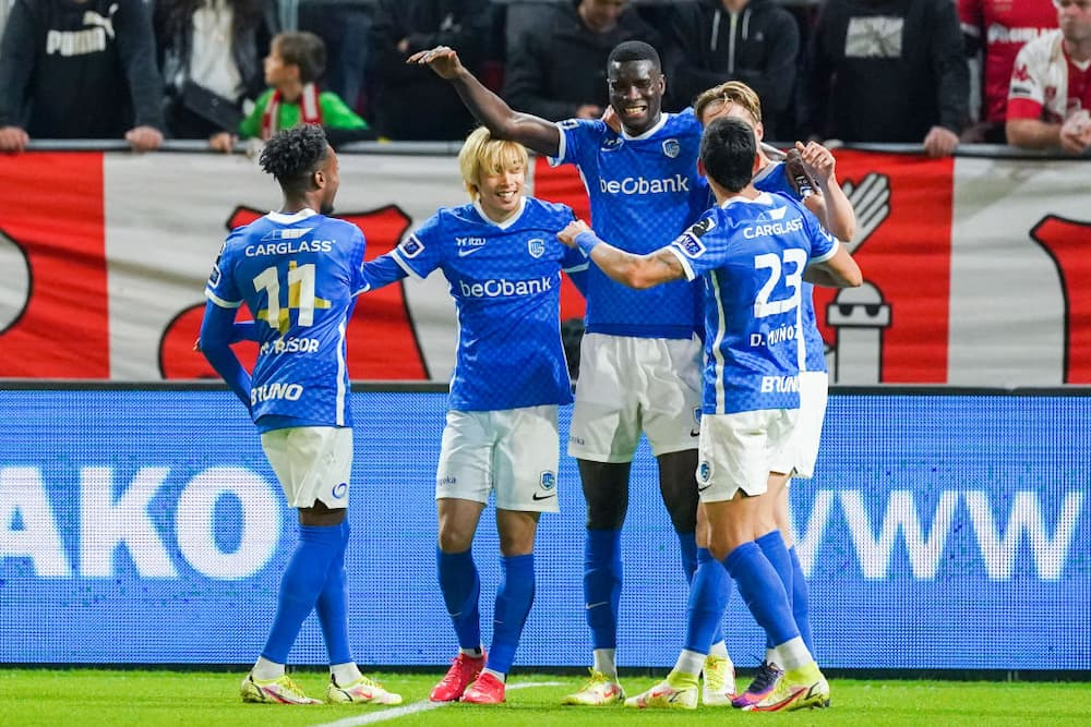 Jubilation As Nigerian Striker Scores Brace for Top European Club, Takes Goal Tally to 6 After 7 Games