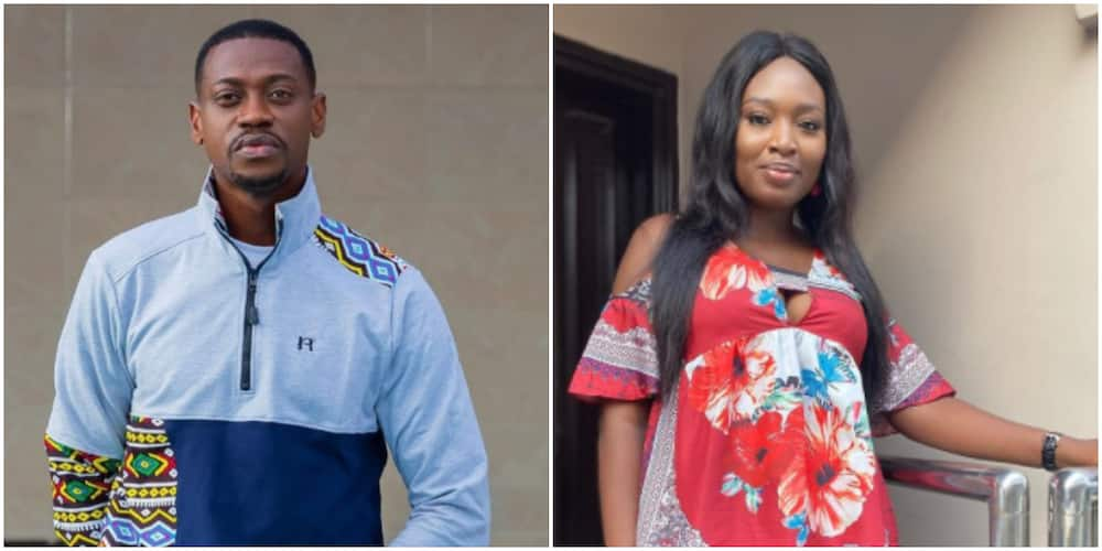 Actor Adedimeji Lateef shares new loved up photo with colleague, Bimpe