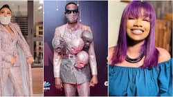 2020 year in review: Tacha, Omashola, Diane, 2 other BBNaija stars whose red carpet outfits got people talking (photos)