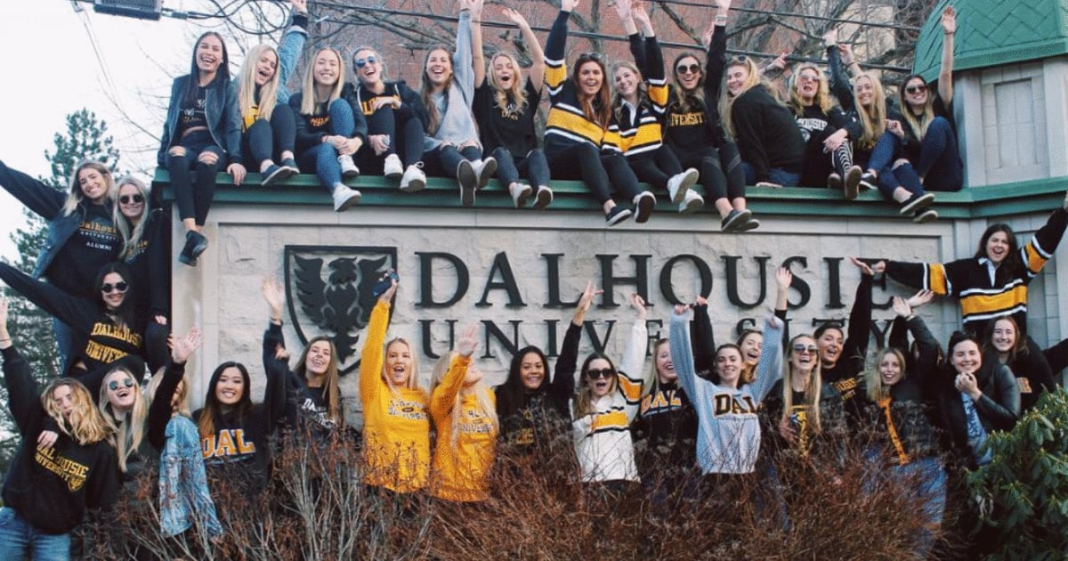 Dalhousie University students