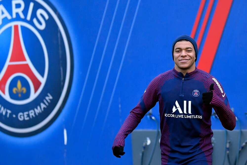 Kylian Mbappe in action for Paris-Saint-Germain