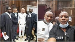 List: 3 key things that happened at Nnamdi Kanu's trial on Thursday