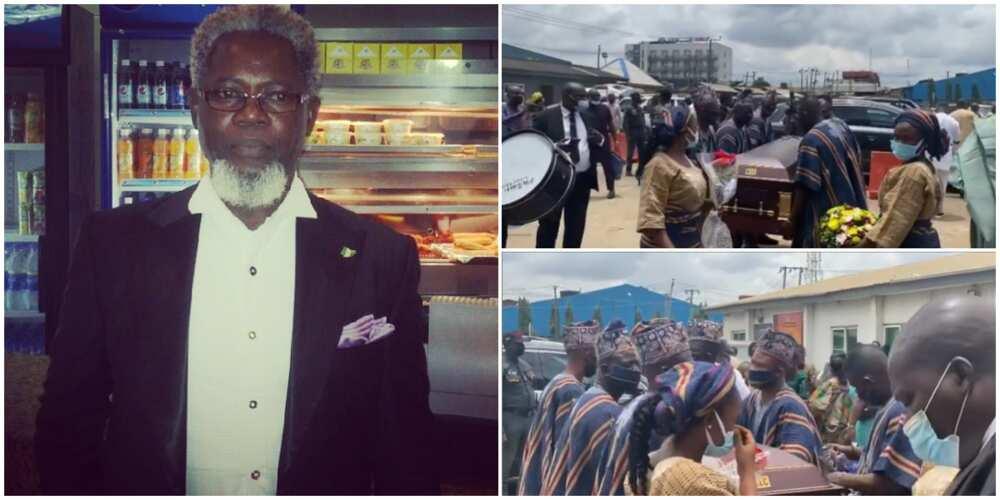 Veteran Nollywood star Victor Olaotan finally laid to rest