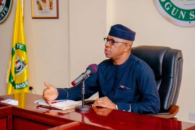 COVID-19: No curfew during Christmas in Ogun, says Governor Abiodun