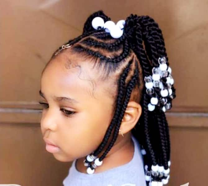 Toddler Braided Hairstyles With Beads For Girls Legit Ng