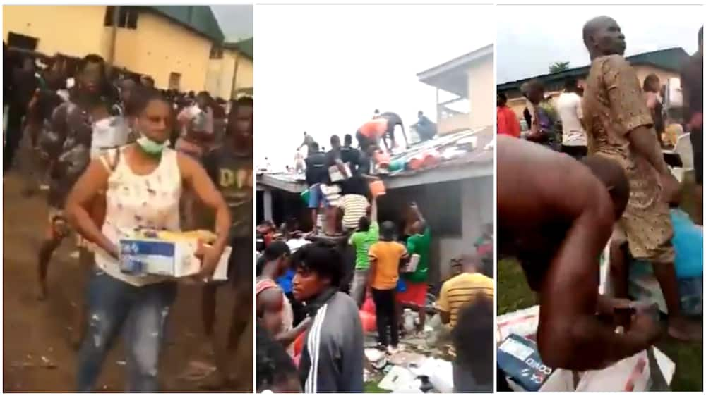 One feared dead as hoodlums loot COVID-19 food items in Edo warehouse