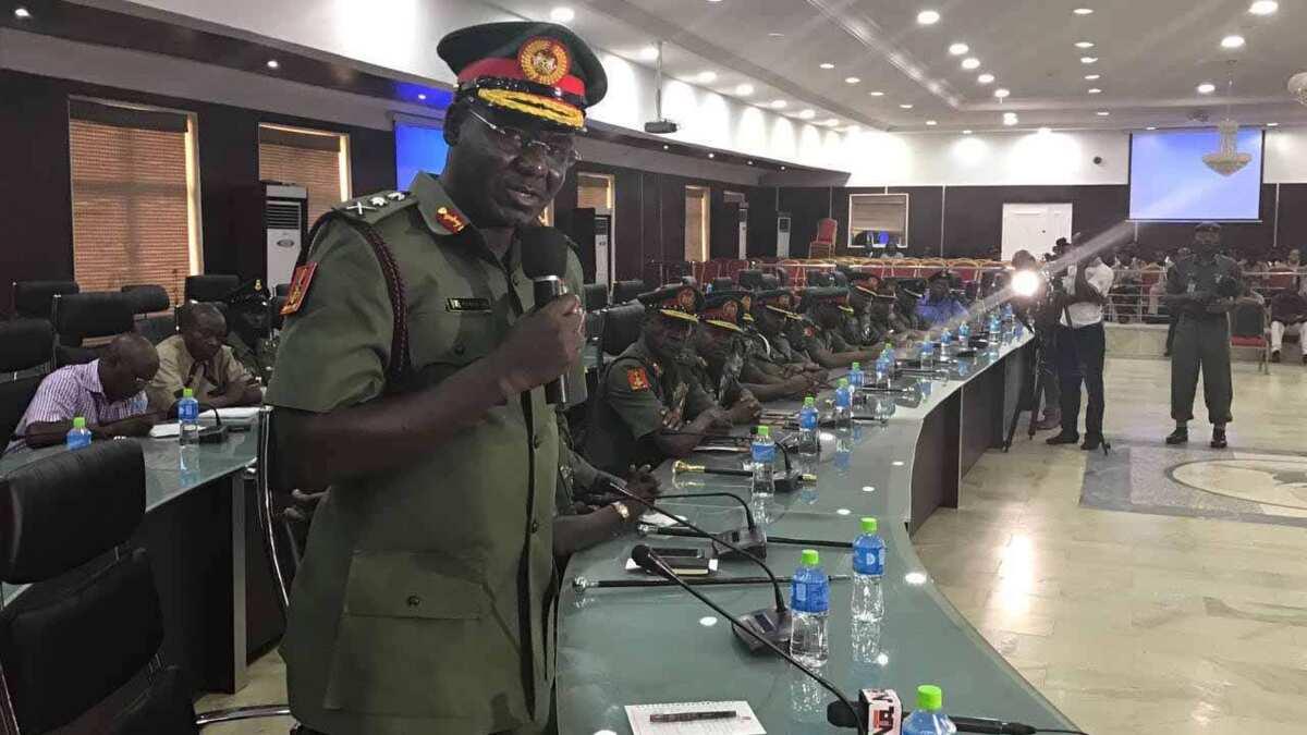 Boko Haram insurgents collaborating with ISIS - General Buratai
