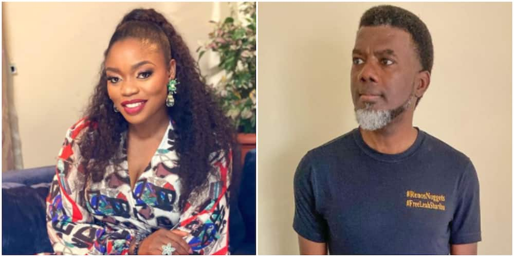 They Don't Rate You Too: Actress Bisola Aiyeola Reacts to Reno Omokri's Statement About Single Mothers