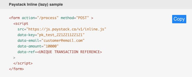 How to use Paystack api plugin