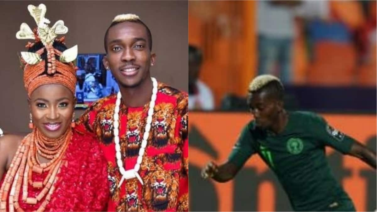 Henry Onyekuru, Super Eagles striker, weds his girlfriend in Benin City - Legit.ng