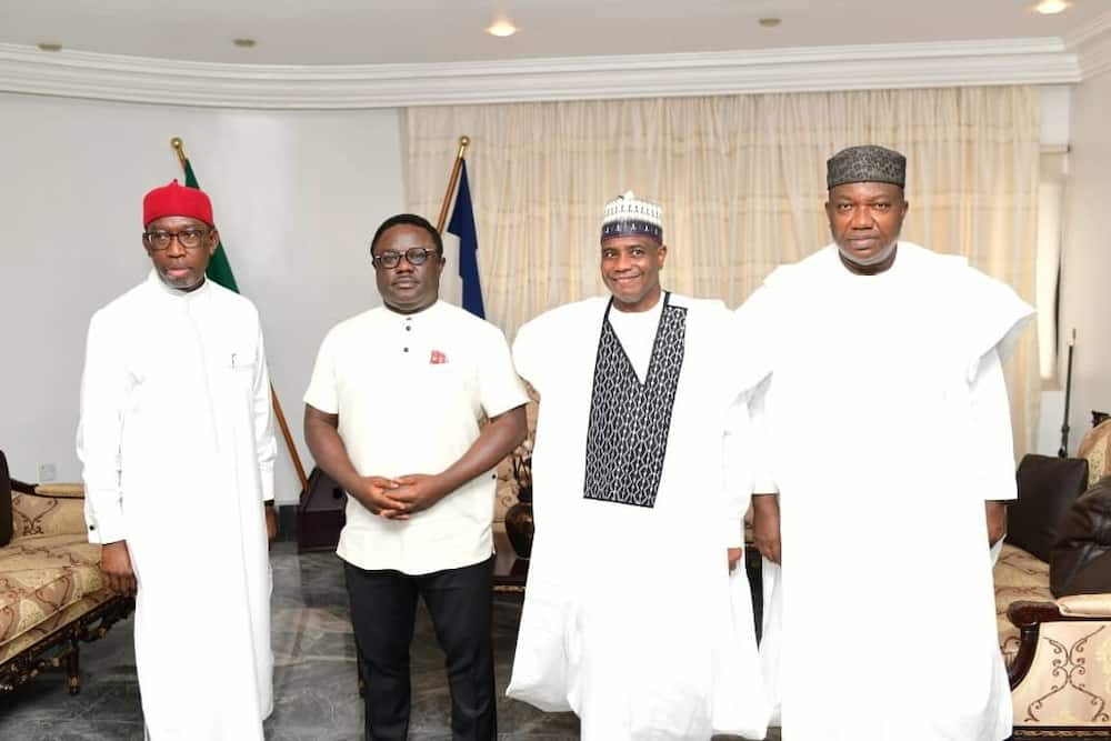 PDP Govs Move to Stop Ayade's Planned Defection PDP Govs Move to Stop Ayade's Planned Defection