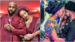 Thank you for loving me Mrs W - Singer Banky W says as he celebrates 3rd introduction ceremony with Adesua Etomi