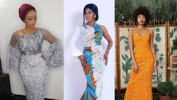 Lace gown styles: amazing trends of 2021 which you will love (photos)