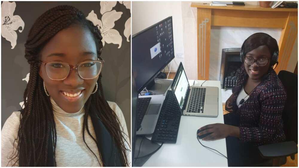 Jubilation as Nigerians lady bags PhD in UK, says she prayed hard