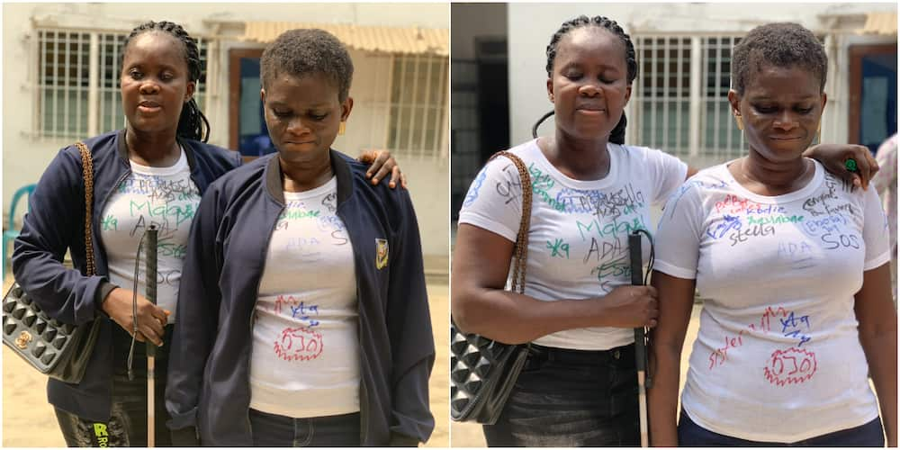 School for the blind celebrates as 2 of its students graduate from University of Ibadan, many react