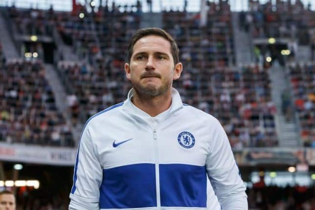 Frank Lampard says he is not concerned on Chelsea's top four chances after Sheffield loss