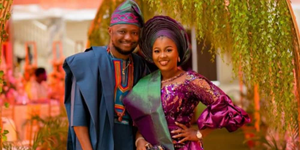Couple who met on Twitter share beautiful love story as they get married (photos)